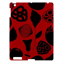 Congregation Of Floral Shades Pattern Apple iPad 3/4 Hardshell Case