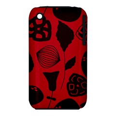 Congregation Of Floral Shades Pattern iPhone 3S/3GS