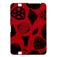 Congregation Of Floral Shades Pattern Kindle Fire HD 8.9