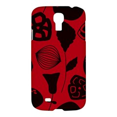Congregation Of Floral Shades Pattern Samsung Galaxy S4 I9500/I9505 Hardshell Case
