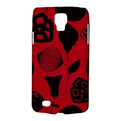 Congregation Of Floral Shades Pattern Galaxy S4 Active