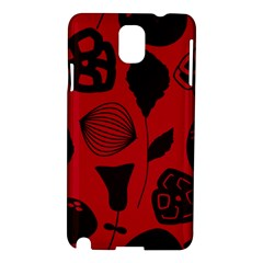 Congregation Of Floral Shades Pattern Samsung Galaxy Note 3 N9005 Hardshell Case
