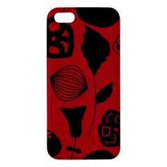 Congregation Of Floral Shades Pattern Iphone 5s/ Se Premium Hardshell Case
