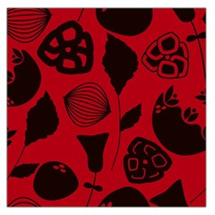Congregation Of Floral Shades Pattern Large Satin Scarf (square)