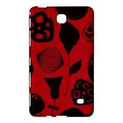 Congregation Of Floral Shades Pattern Samsung Galaxy Tab 4 (8 ) Hardshell Case
