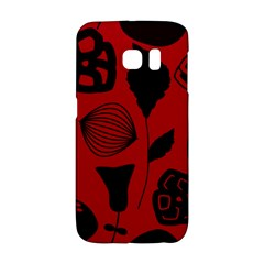 Congregation Of Floral Shades Pattern Galaxy S6 Edge