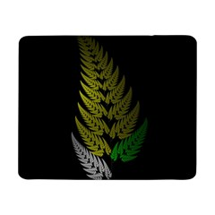 Drawing Of A Fractal Fern On Black Samsung Galaxy Tab Pro 8 4  Flip Case