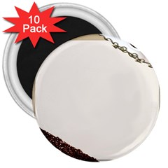 Greeting Card Coffee Mood 3  Magnets (10 Pack)