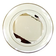 Greeting Card Coffee Mood Porcelain Plates