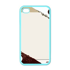Greeting Card Coffee Mood Apple Iphone 4 Case (color)