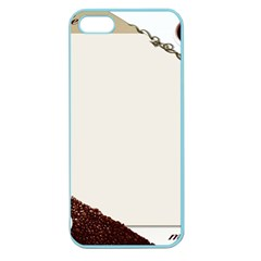Greeting Card Coffee Mood Apple Seamless iPhone 5 Case (Color)