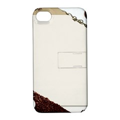 Greeting Card Coffee Mood Apple iPhone 4/4S Hardshell Case with Stand