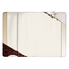 Greeting Card Coffee Mood Samsung Galaxy Tab 10.1  P7500 Flip Case