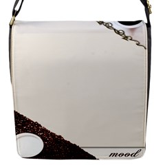 Greeting Card Coffee Mood Flap Messenger Bag (S)