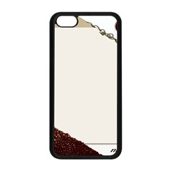 Greeting Card Coffee Mood Apple iPhone 5C Seamless Case (Black)