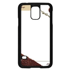 Greeting Card Coffee Mood Samsung Galaxy S5 Case (black)