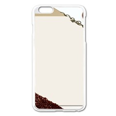 Greeting Card Coffee Mood Apple iPhone 6 Plus/6S Plus Enamel White Case