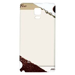 Greeting Card Coffee Mood Galaxy Note 4 Back Case