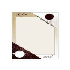Greeting Card Coffee Mood Satin Bandana Scarf