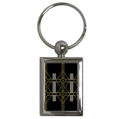 Simple Art Deco Style  Key Chains (Rectangle)