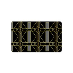 Simple Art Deco Style  Magnet (name Card)