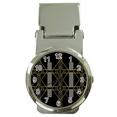 Simple Art Deco Style  Money Clip Watches
