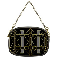 Simple Art Deco Style  Chain Purses (one Side)