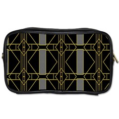 Simple Art Deco Style  Toiletries Bags 2-Side