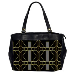 Simple Art Deco Style  Office Handbags (2 Sides)