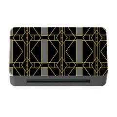 Simple Art Deco Style  Memory Card Reader with CF