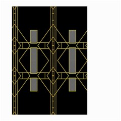 Simple Art Deco Style  Small Garden Flag (Two Sides)