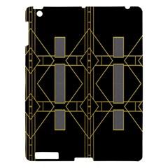 Simple Art Deco Style  Apple iPad 3/4 Hardshell Case