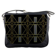 Simple Art Deco Style  Messenger Bags
