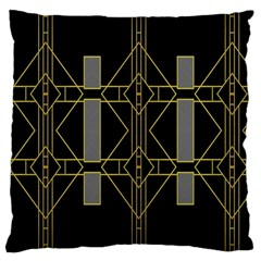 Simple Art Deco Style  Large Cushion Case (Two Sides)