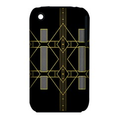 Simple Art Deco Style  iPhone 3S/3GS