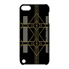 Simple Art Deco Style  Apple iPod Touch 5 Hardshell Case with Stand
