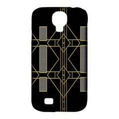 Simple Art Deco Style  Samsung Galaxy S4 Classic Hardshell Case (PC+Silicone)