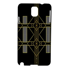 Simple Art Deco Style  Samsung Galaxy Note 3 N9005 Hardshell Case