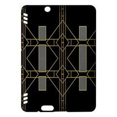 Simple Art Deco Style  Kindle Fire HDX Hardshell Case