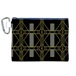 Simple Art Deco Style  Canvas Cosmetic Bag (XL) Front
