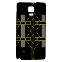 Simple Art Deco Style  Galaxy Note 4 Back Case