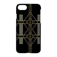Simple Art Deco Style  Apple Iphone 7 Hardshell Case