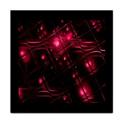 Picture Of Love In Magenta Declaration Of Love Tile Coasters