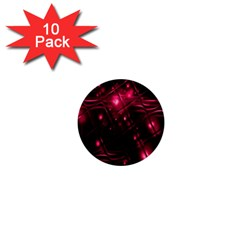 Picture Of Love In Magenta Declaration Of Love 1  Mini Buttons (10 pack)