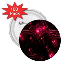 Picture Of Love In Magenta Declaration Of Love 2 25  Buttons (100 Pack)