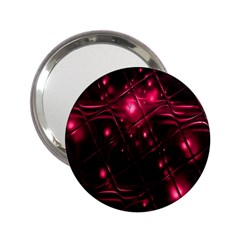 Picture Of Love In Magenta Declaration Of Love 2.25  Handbag Mirrors