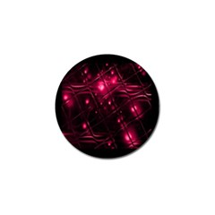Picture Of Love In Magenta Declaration Of Love Golf Ball Marker (10 pack)