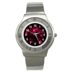 Picture Of Love In Magenta Declaration Of Love Stainless Steel Watch