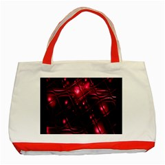 Picture Of Love In Magenta Declaration Of Love Classic Tote Bag (Red)