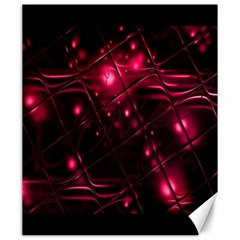 Picture Of Love In Magenta Declaration Of Love Canvas 20  X 24
